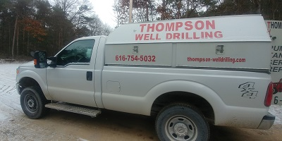 Thompon Well Drilling - Service Truck